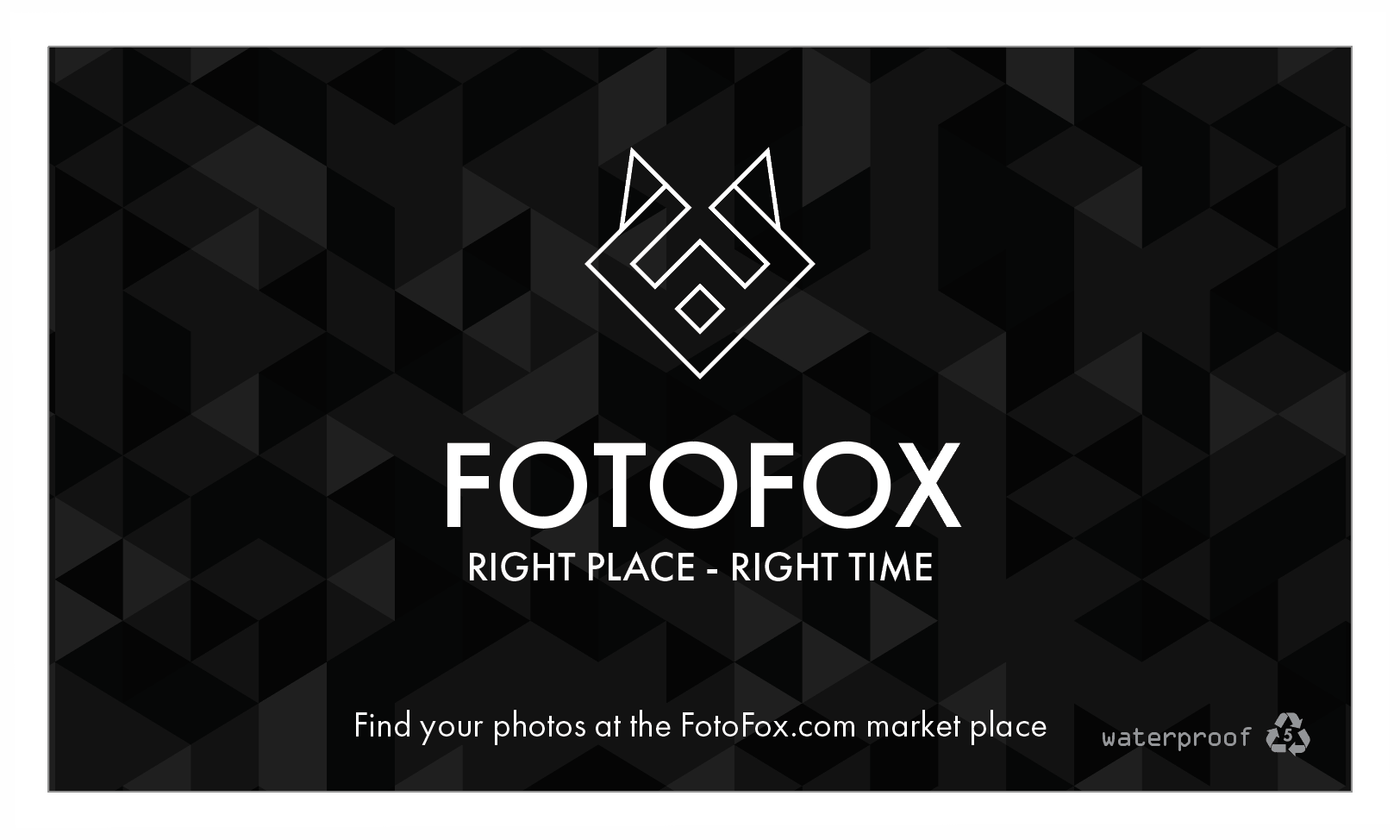 FOTOFOX - STANDARD Business Cards